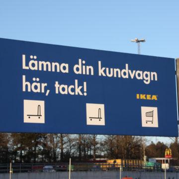 Ikeaskylt