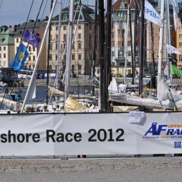 Banderoller ÅF Offshore Race 2012