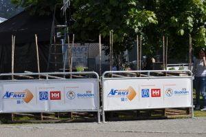 Banderoll vid ÅF Offshore Race